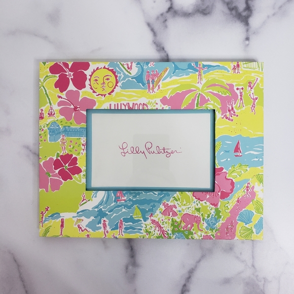 Lilly Pulitzer Other - Lilly Pulitzer 4 x 6 Yellow Picture Frame